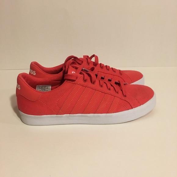 K-Swiss Shoes   Nwot Mens Kswiss Red